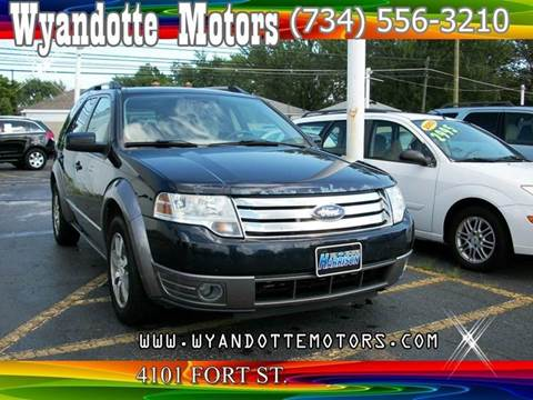 2008 Ford Taurus X for sale at Wyandotte Motors in Wyandotte MI