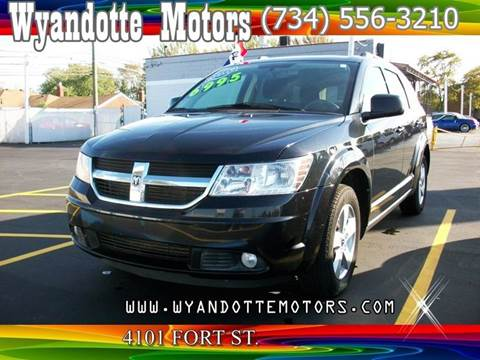 2010 Dodge Journey for sale at Wyandotte Motors in Wyandotte MI