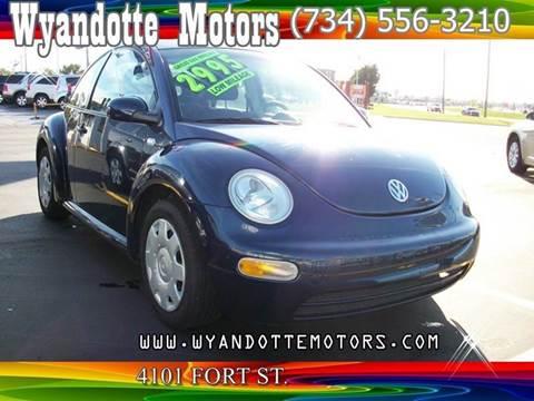 2001 Volkswagen New Beetle for sale at Wyandotte Motors in Wyandotte MI
