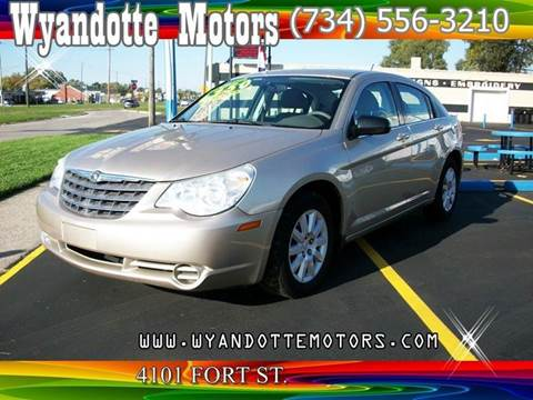 2007 Chrysler Sebring for sale at Wyandotte Motors in Wyandotte MI