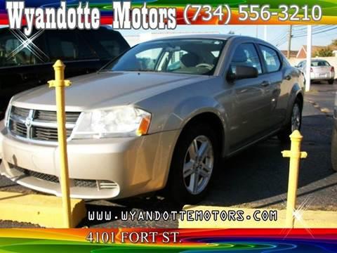 2008 Dodge Avenger for sale at Wyandotte Motors in Wyandotte MI
