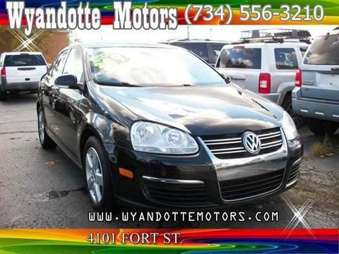 2009 Volkswagen Jetta for sale at Wyandotte Motors in Wyandotte MI