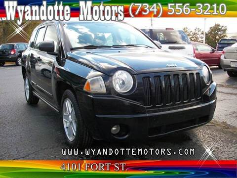 2008 Jeep Compass for sale at Wyandotte Motors in Wyandotte MI