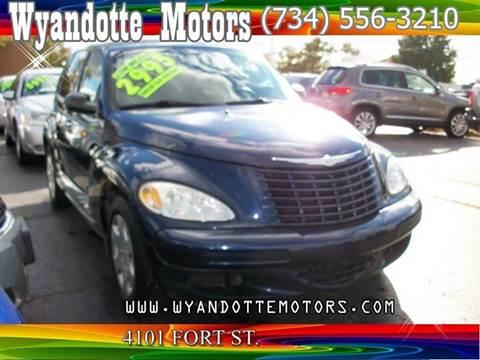 2005 Chrysler PT Cruiser for sale at Wyandotte Motors in Wyandotte MI