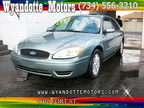 2005 Ford Taurus for sale at Wyandotte Motors in Wyandotte MI