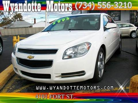 2008 Chevrolet Malibu for sale at Wyandotte Motors in Wyandotte MI