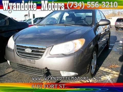 2007 Hyundai Elantra for sale at Wyandotte Motors in Wyandotte MI