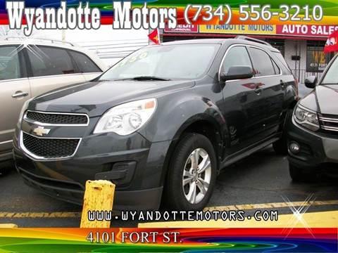 2012 Chevrolet Equinox for sale at Wyandotte Motors in Wyandotte MI