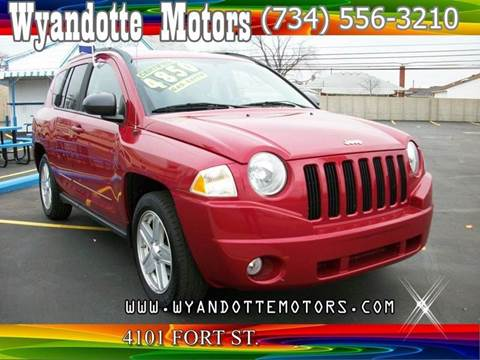 2010 Jeep Compass for sale at Wyandotte Motors in Wyandotte MI