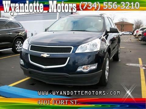 2011 Chevrolet Traverse for sale at Wyandotte Motors in Wyandotte MI