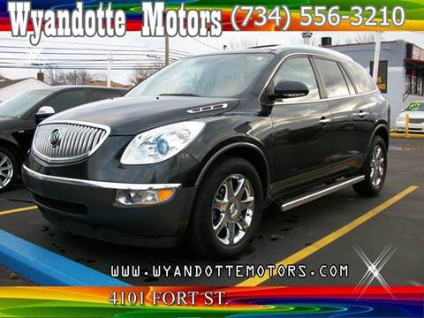 2010 Buick Enclave for sale at Wyandotte Motors in Wyandotte MI