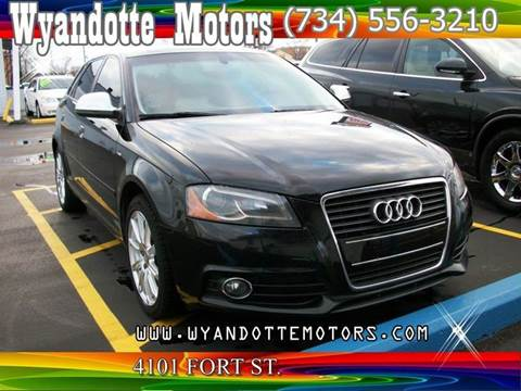 2010 Audi A3 for sale at Wyandotte Motors in Wyandotte MI