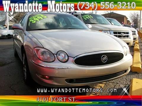 2007 Buick LaCrosse for sale at Wyandotte Motors in Wyandotte MI