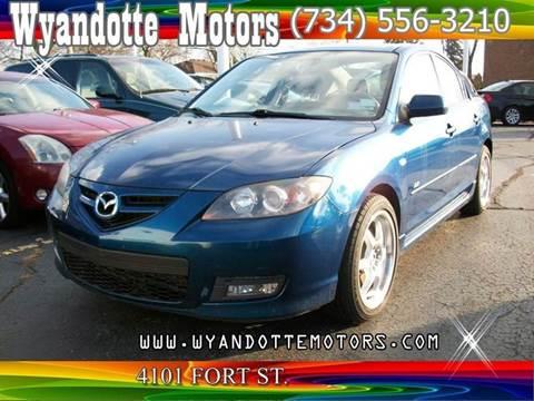 2008 Mazda MAZDA3 for sale at Wyandotte Motors in Wyandotte MI