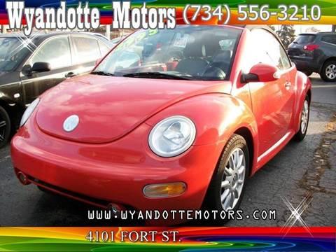 2004 Volkswagen New Beetle for sale at Wyandotte Motors in Wyandotte MI