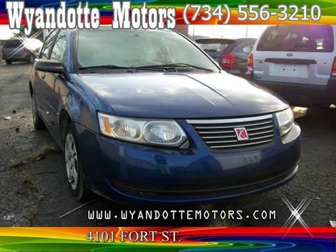 2005 Saturn Ion for sale at Wyandotte Motors in Wyandotte MI