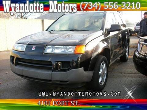 2004 Saturn Vue for sale at Wyandotte Motors in Wyandotte MI