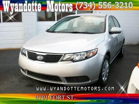 2011 Kia Forte for sale at Wyandotte Motors in Wyandotte MI
