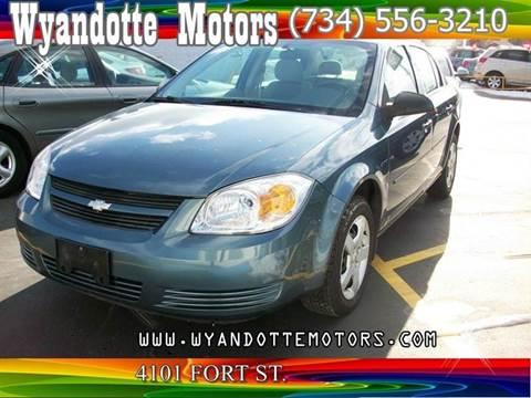 2007 Chevrolet Cobalt for sale at Wyandotte Motors in Wyandotte MI