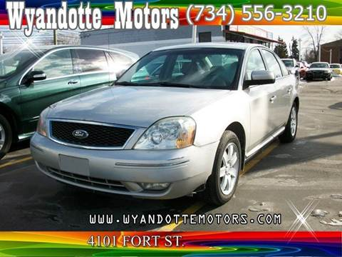 2006 Ford Five Hundred for sale at Wyandotte Motors in Wyandotte MI