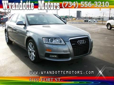 2010 Audi A6 for sale at Wyandotte Motors in Wyandotte MI