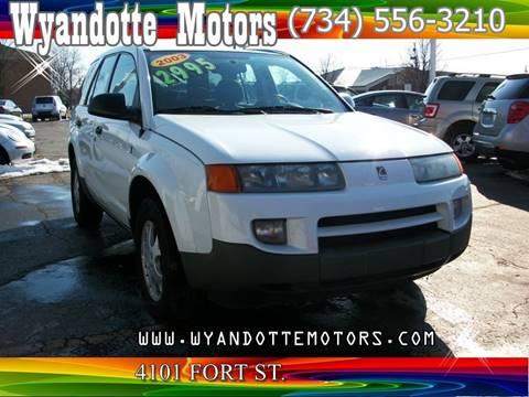 2002 Saturn Vue for sale at Wyandotte Motors in Wyandotte MI