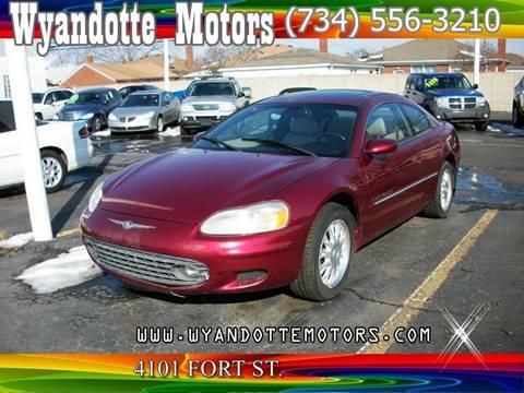 2001 Chrysler Sebring for sale at Wyandotte Motors in Wyandotte MI