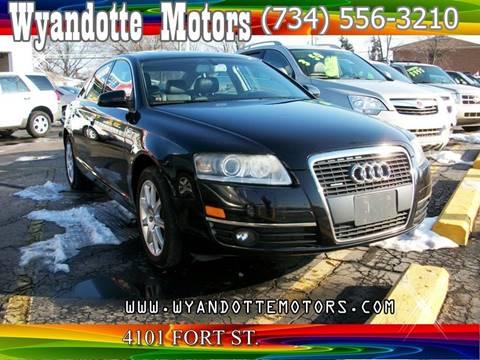 2005 Audi A6 for sale at Wyandotte Motors in Wyandotte MI