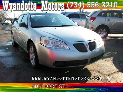 2006 Pontiac G6 for sale at Wyandotte Motors in Wyandotte MI