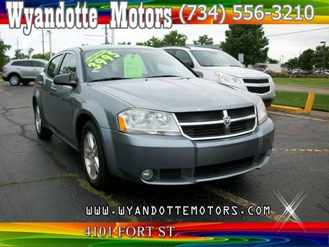 2009 Dodge Avenger for sale in Wyandotte, MI