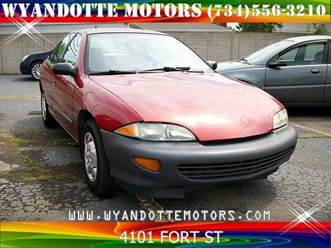 1996 Chevrolet Cavalier for sale at Wyandotte Motors in Wyandotte MI