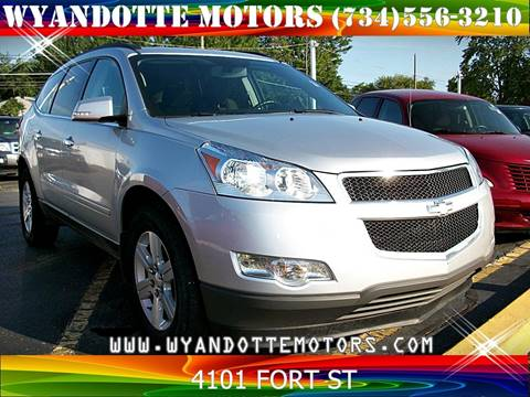 2012 Chevrolet Traverse for sale at Wyandotte Motors in Wyandotte MI