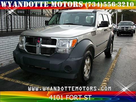 2008 Dodge Nitro for sale at Wyandotte Motors in Wyandotte MI