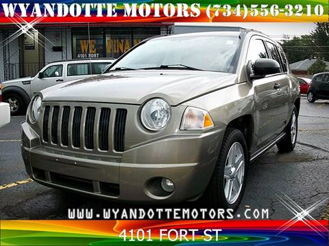 2008 Jeep Compass for sale in Wyandotte, MI
