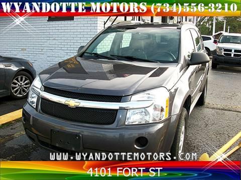 2008 Chevrolet Equinox for sale at Wyandotte Motors in Wyandotte MI