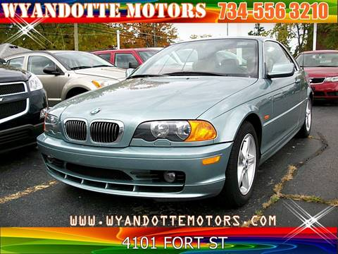 2002 BMW 3 Series for sale at Wyandotte Motors in Wyandotte MI