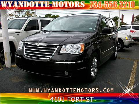 2010 Chrysler Town and Country for sale at Wyandotte Motors in Wyandotte MI