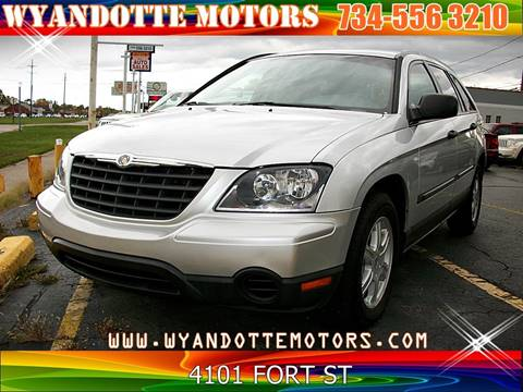 2006 Chrysler Pacifica for sale at Wyandotte Motors in Wyandotte MI