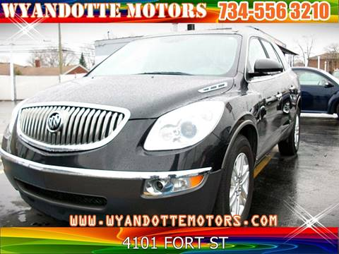 2009 Buick Enclave for sale in Wyandotte, MI