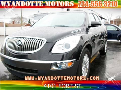 2009 Buick Enclave for sale at Wyandotte Motors in Wyandotte MI