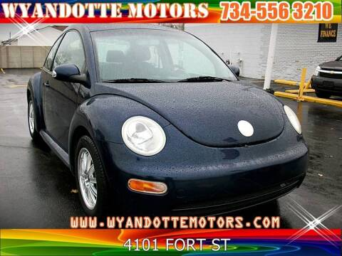 2005 Volkswagen New Beetle for sale in Wyandotte, MI