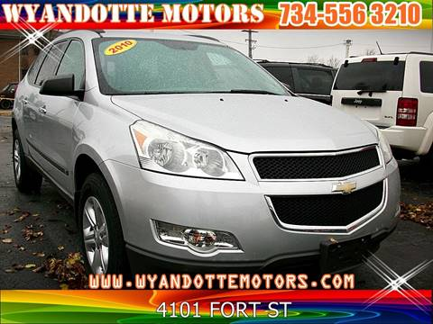 2010 Chevrolet Traverse for sale in Wyandotte, MI