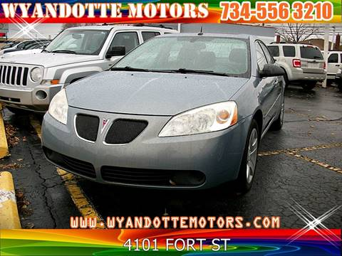 2008 Pontiac G6 for sale in Wyandotte, MI
