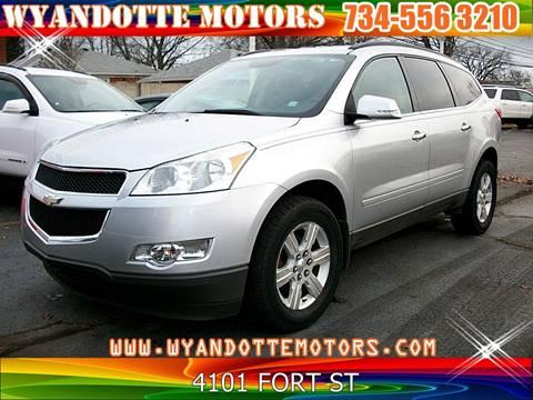 2010 Chevrolet Traverse for sale at Wyandotte Motors in Wyandotte MI