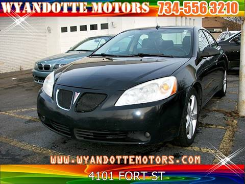 2008 Pontiac G6 for sale at Wyandotte Motors in Wyandotte MI
