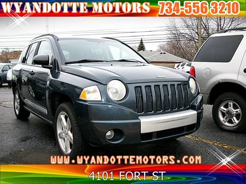 2008 Jeep Compass Limited for sale at Wyandotte Motors in Wyandotte MI