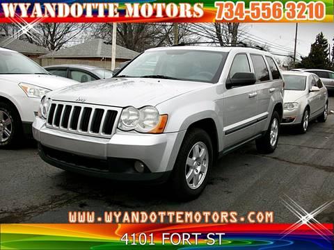 2008 Jeep Grand Cherokee Laredo for sale at Wyandotte Motors in Wyandotte MI