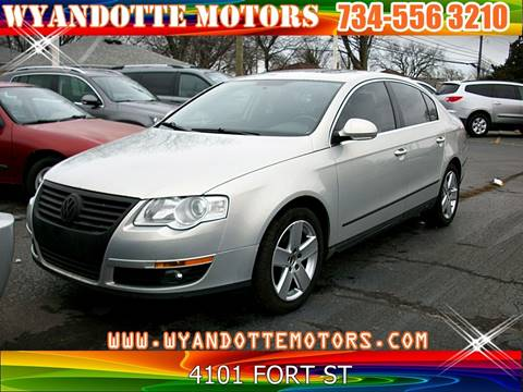 2009 Volkswagen Passat for sale at Wyandotte Motors in Wyandotte MI