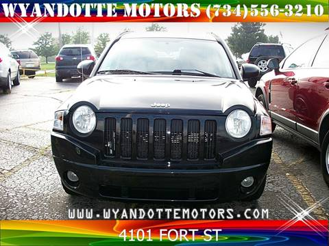 2007 Jeep Compass Sport for sale at Wyandotte Motors in Wyandotte MI