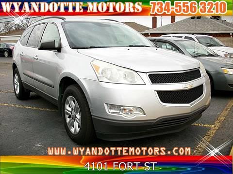2009 Chevrolet Traverse for sale at Wyandotte Motors in Wyandotte MI